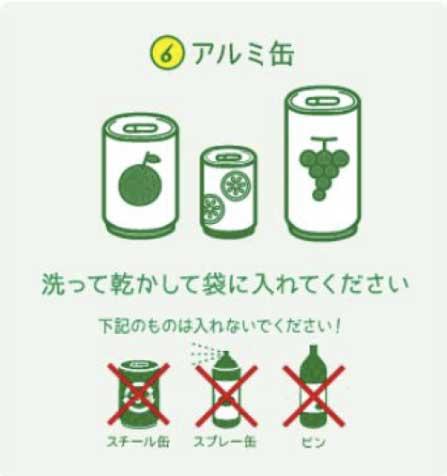 アルミ缶の回収