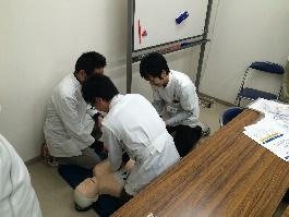 AED研修開催