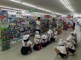 桜井店 小学校会社訪問